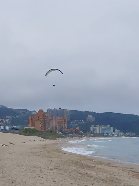 Paragliding in Wanli, New Taipei City