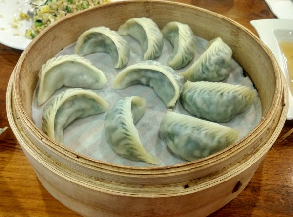 Jiao zi, or water dumpling in Taiwan